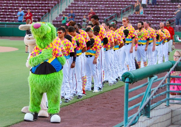 Lake Elsinore Storm Double Dare Night National Anthem