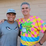 Josh Naylor with Wayne McBrayer