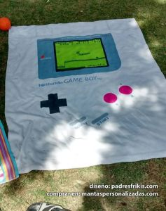 Toalla Game Boy