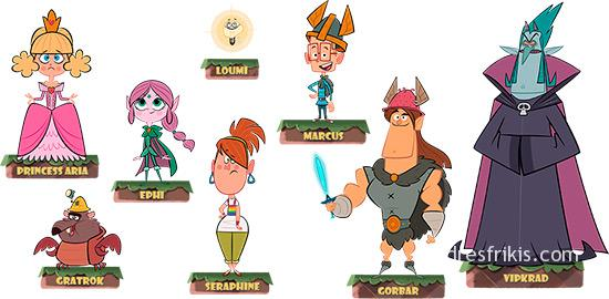 Marcus Level personajes