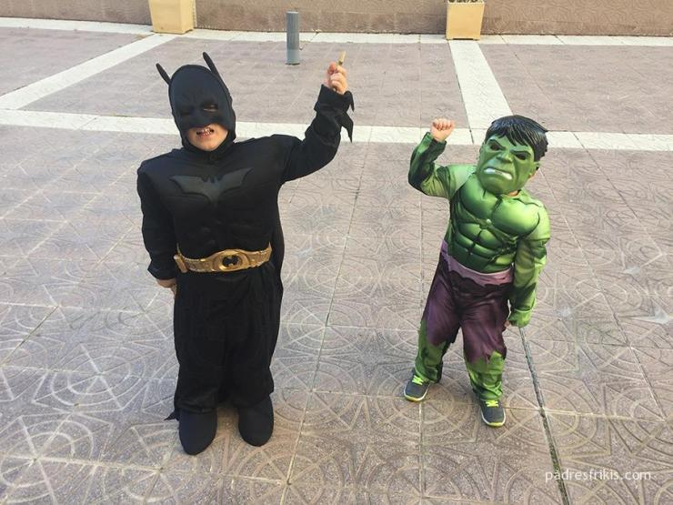 Disfraces superhéroes para niños