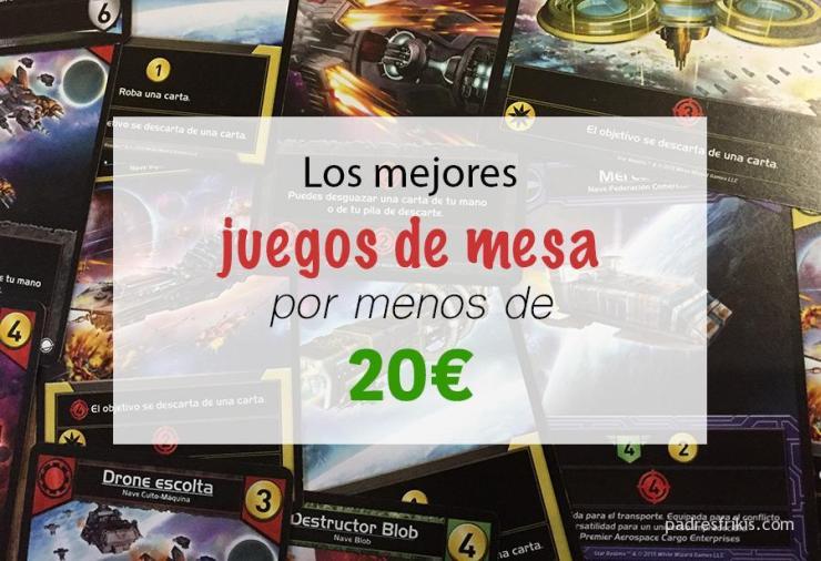 Mejores juegos de mesa por menos de 20€
