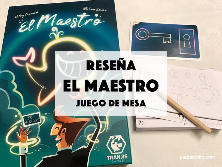 """Reseña juego de mesa """"El Maestro"""" de Tranjis"""