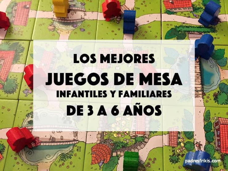 Mejores juegos de mesa infantiles para niños