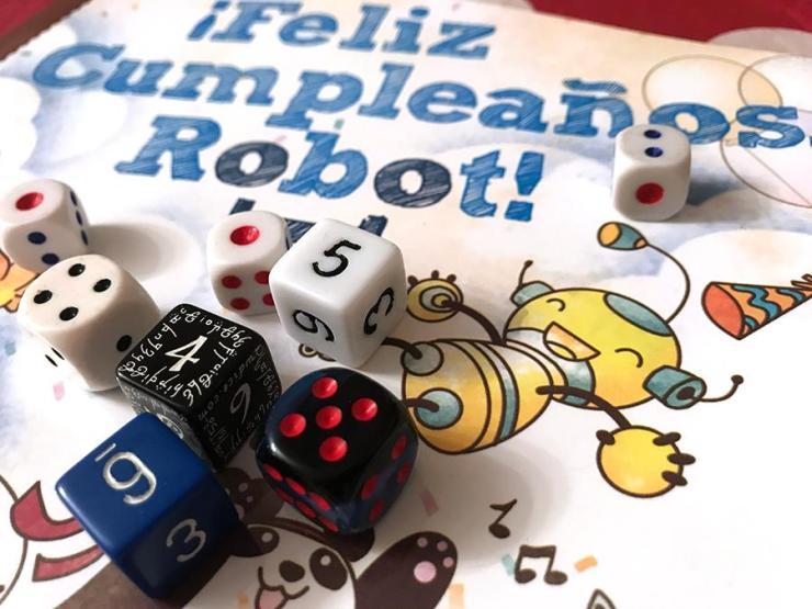 Feliz cumpleaños, Robot