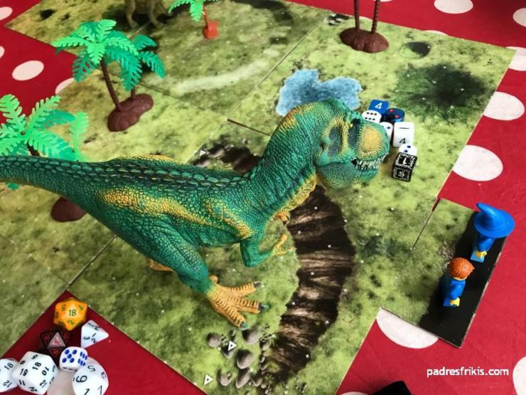 La persecución del T-Rex