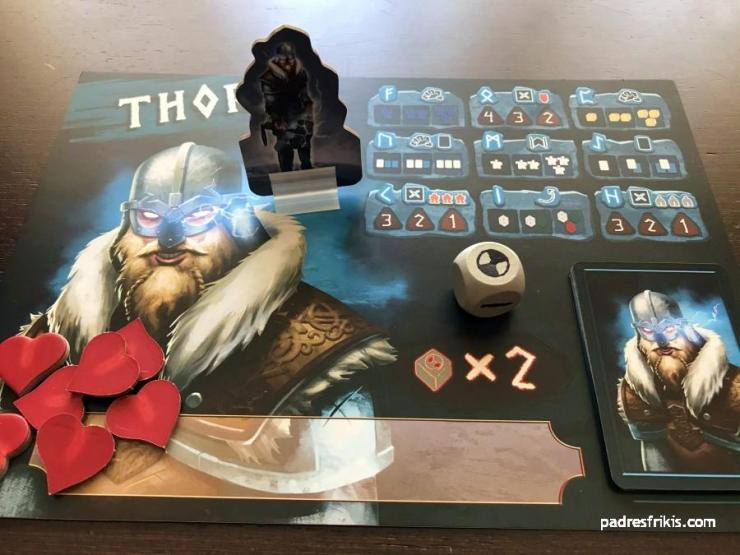 Preparación para Thor