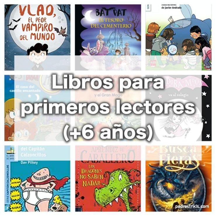 Mejores libros para primeros lectores