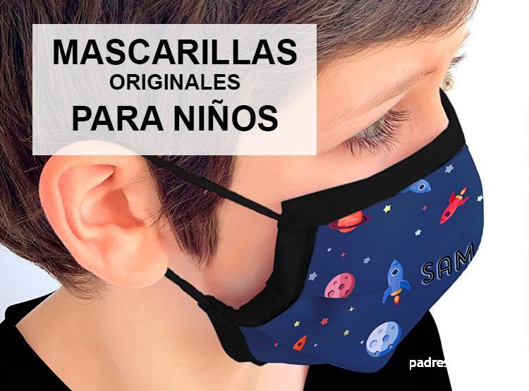 Mascarillas originales para niños