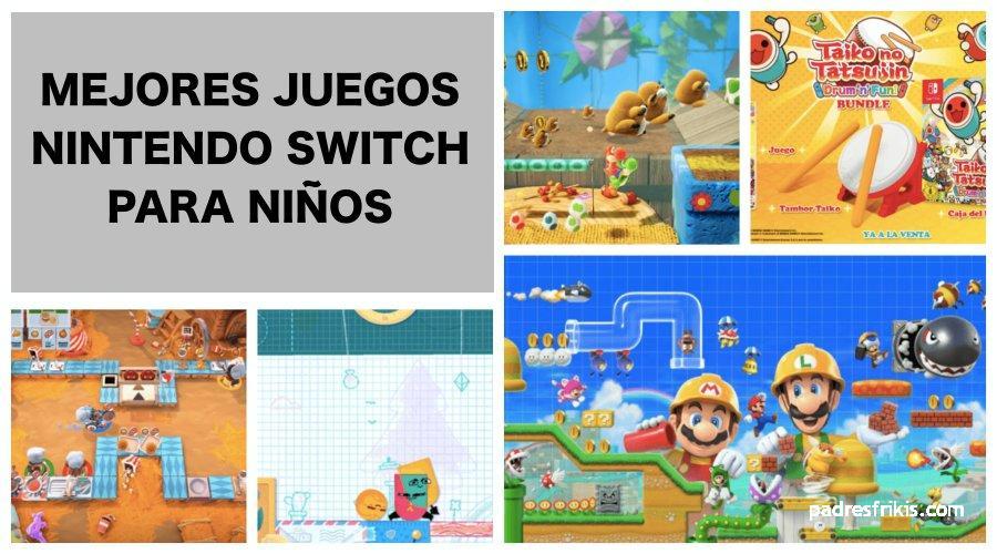 Mejores juegos Nintendo Switch para niños