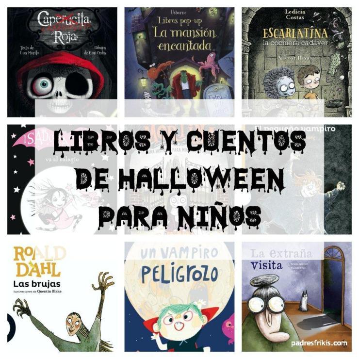 Cuentos y libros de Halloween para niños infantiles y juveniles