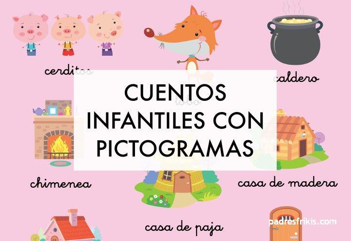 Cuentos infantiles con pictogramas