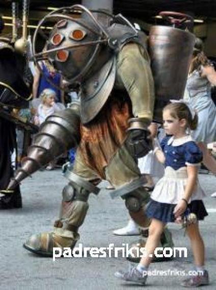 disfraz big daddy y little sister