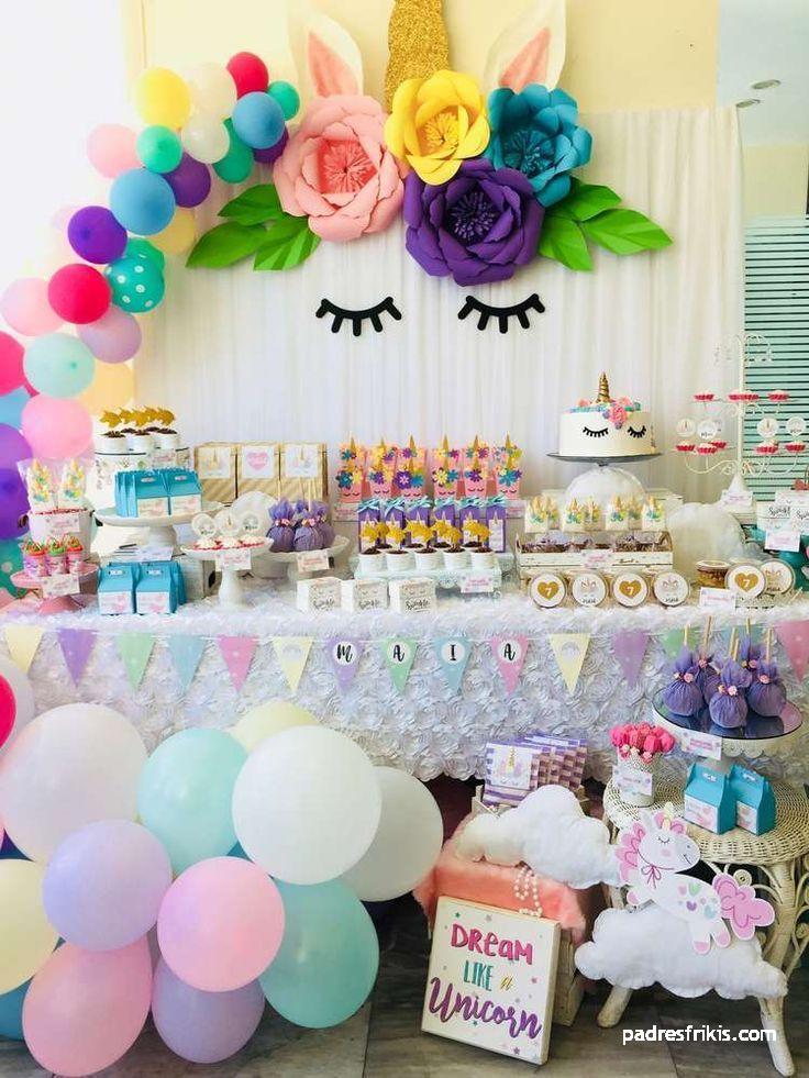 fiesta cumpleaños unicornio