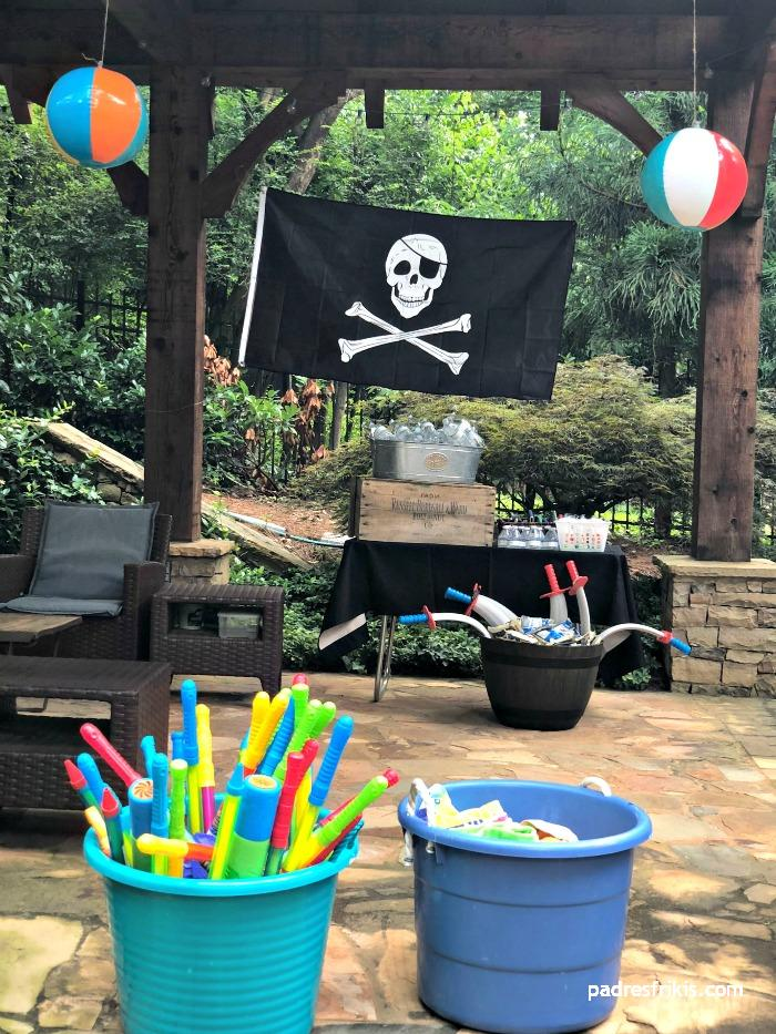 ideas fiestas infantiles piratas