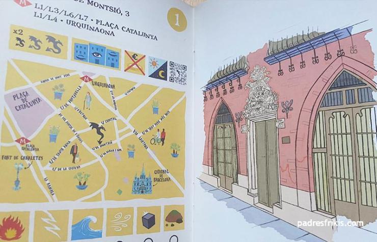 mapa ruta de los dragones barcelona madrid