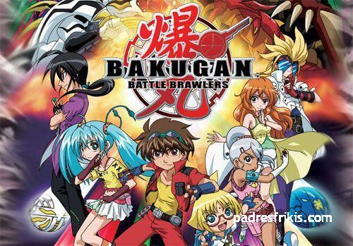animes para niños bakugan