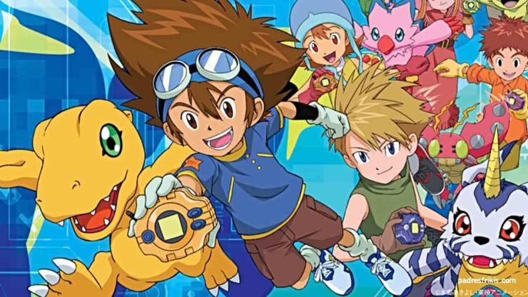 Digimon anime para niños