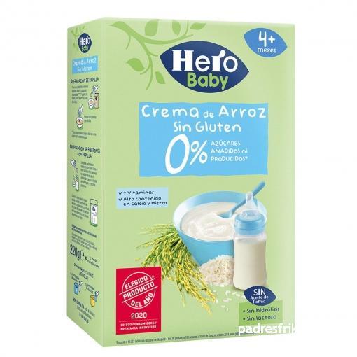 crema de arroz herobaby
