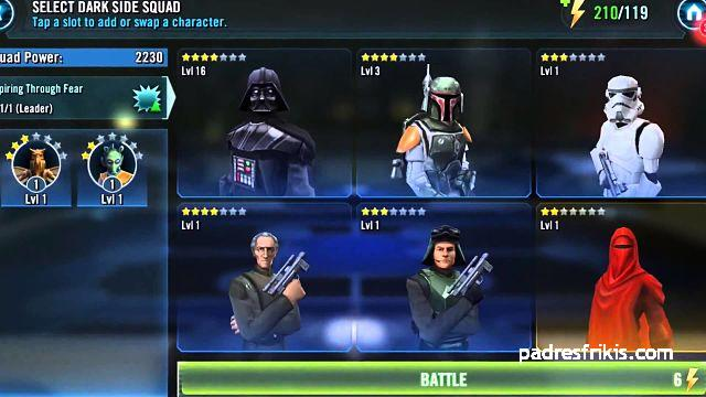 star wars galaxy heroes android