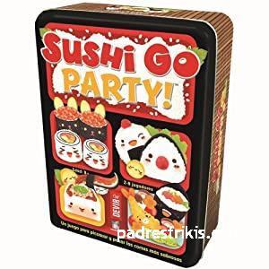 sushi go juego de mesa de matemáticas
