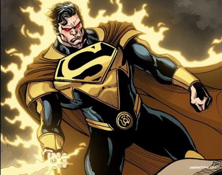 superman injustice among us yellow lantern