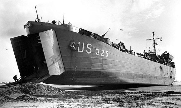 lst-325 at normandy