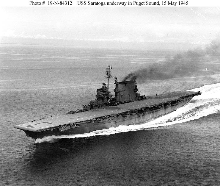 saratoga 1945