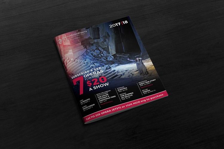Houston Grand Opera – 2017-18 Season Brochure