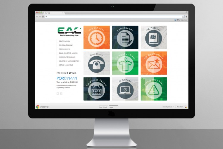 EAC Consulting Employee Intranet