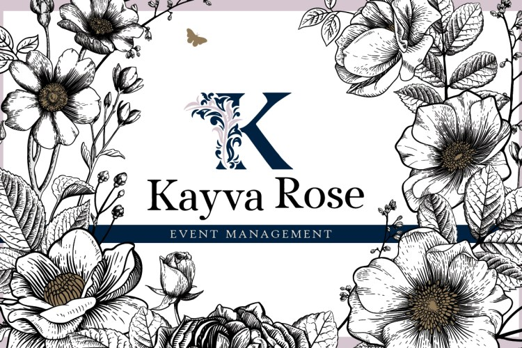 Kayva Rose Event Management Website and Brand Identity