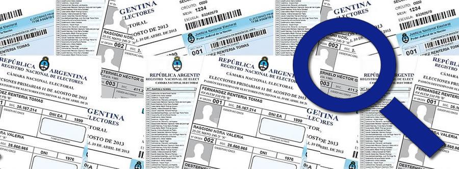 Río Negro : ya están disponibles los padrones provisorios elecciones municipales