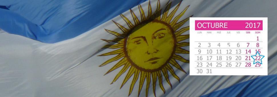 Calendario Electoral Elecciones Argentina 2019