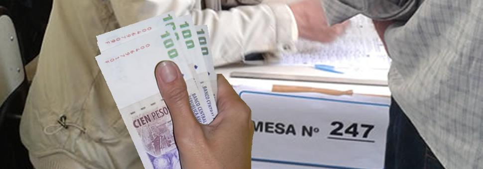 Elecciones Nacionales ¿cuánto cobrarán las autoridades de mesa?