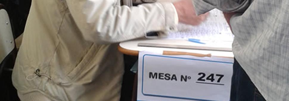 Abierta la inscripción para postulantes a autoridades de mesa 2017