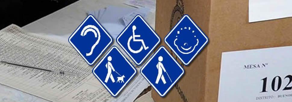 Voto personas con discapacidad