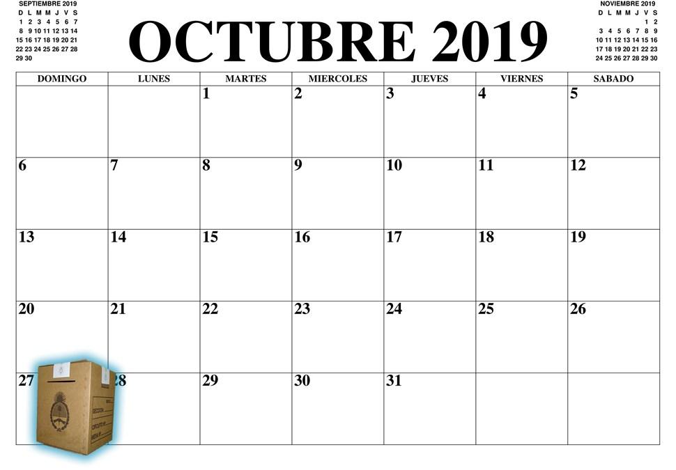 Calendario electoral 2019: cuándo se vota en cada provincia