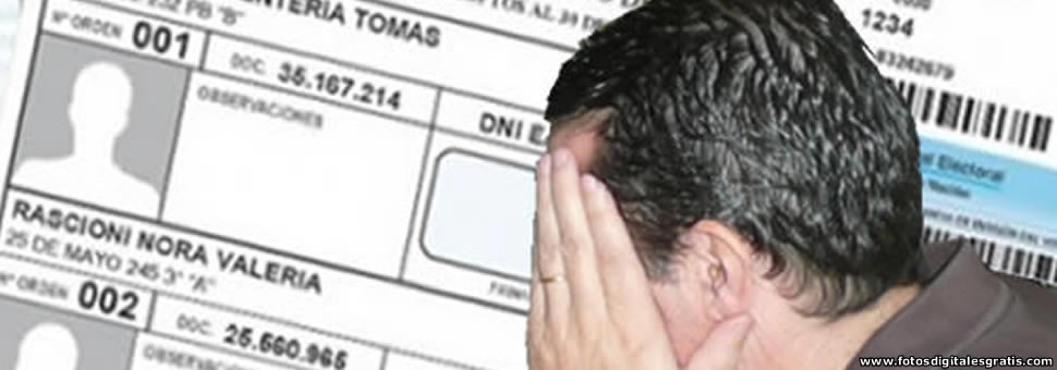 Entre Ríos : denuncian domicilios truchos en el padrón electoral