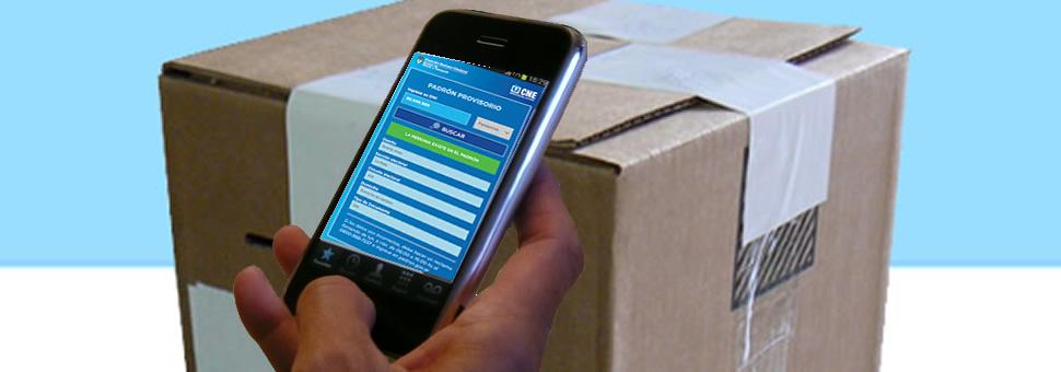 Lanzan aplicación para teléfonos celulares para consultar el padrón electoral