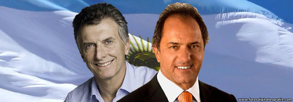 Scioli y Macri, definen el primer ballotage de la historia argentina