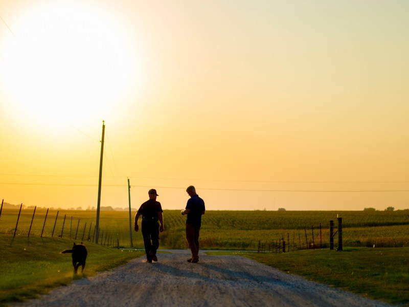 Farm Leaders Visit Opioid Memorial in Show of Unity