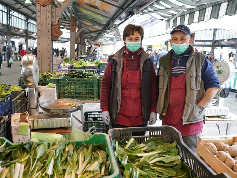 Farmers Market Pivot and Provide Safe, Local Food Systems
