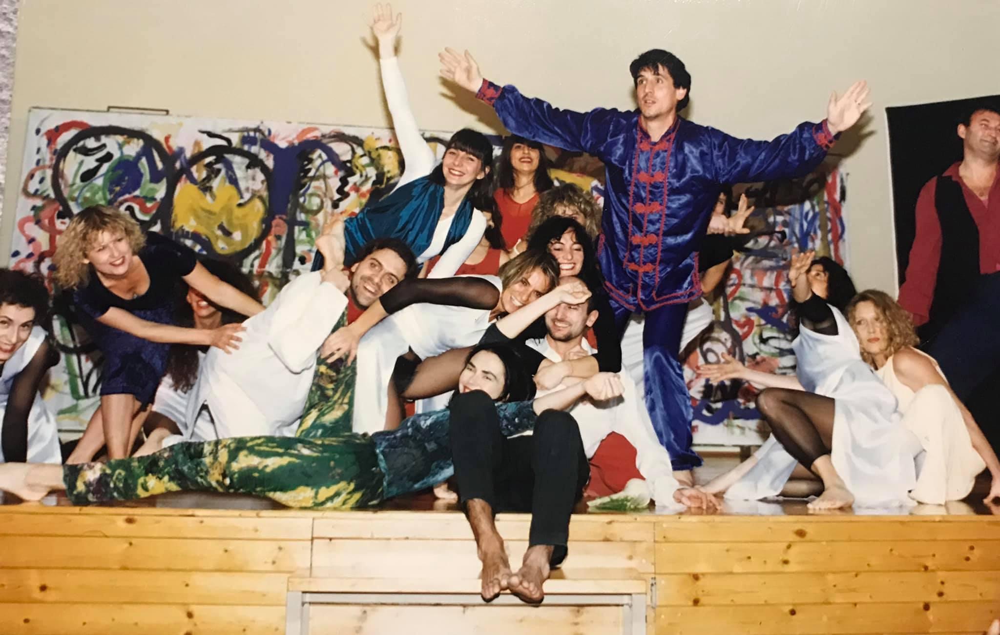Laboratorio di danzateatro - La danza disegna lo spazio