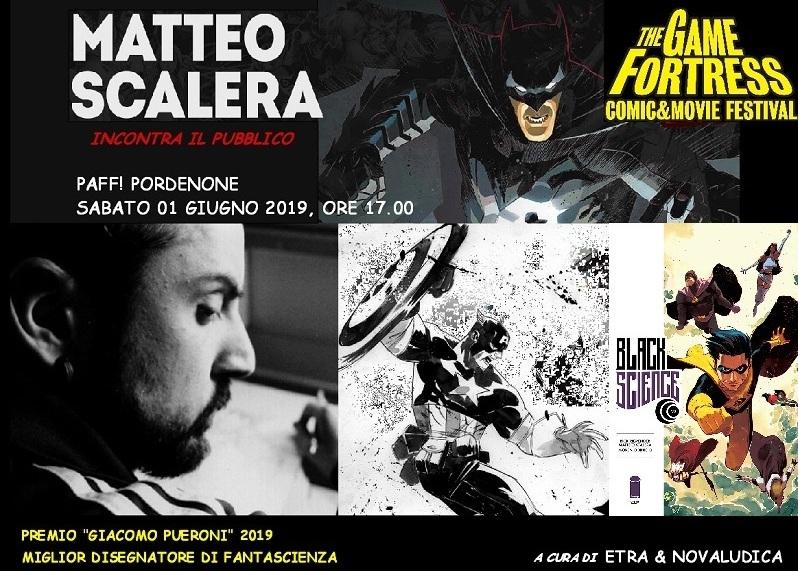 Cerimonia di consegna del Premio Giacomo Pueroni 2019 a Matteo Scalera
