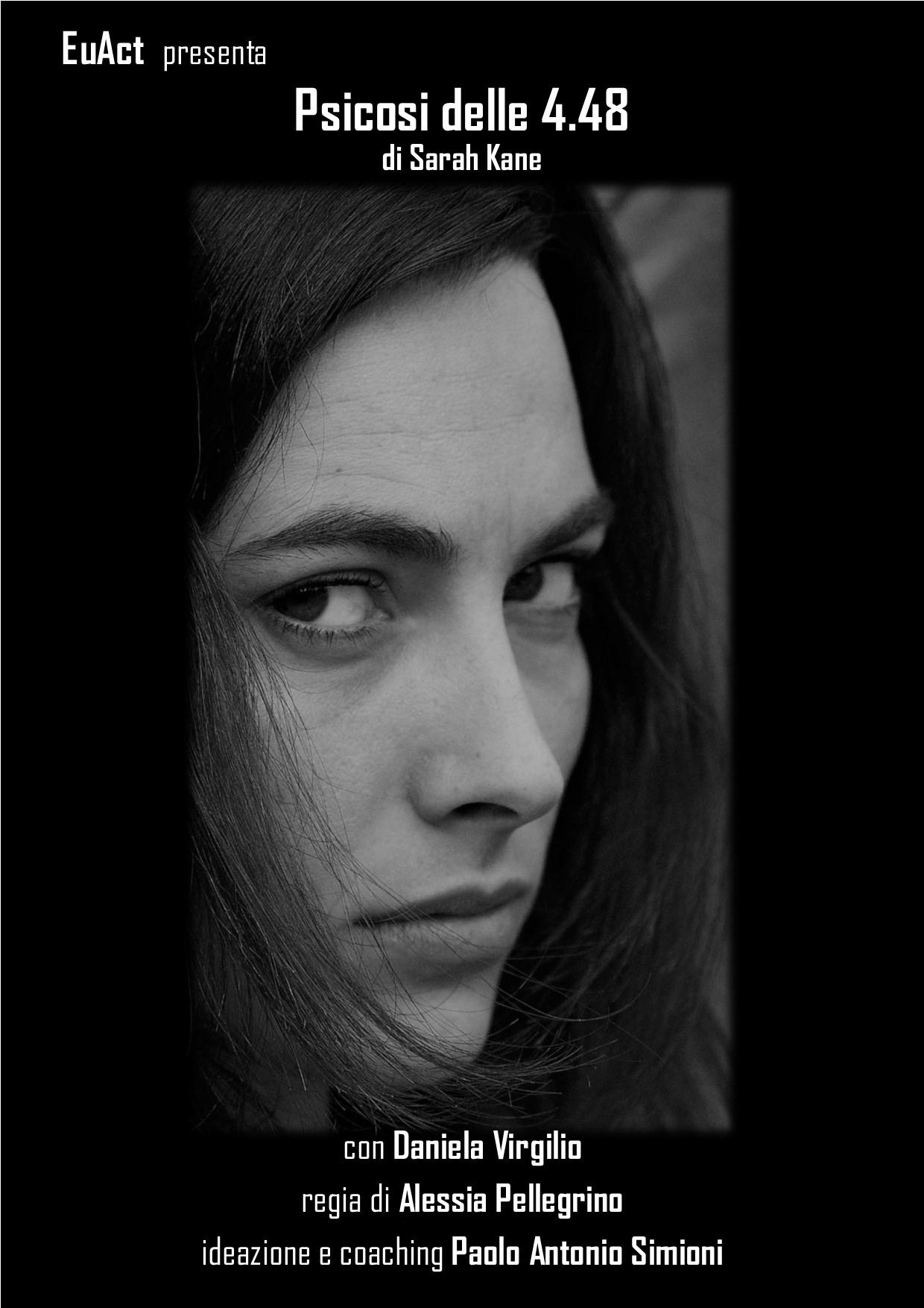 """Teatro: """"Psicosi delle 4.48"""" con Daniela Virgilio"""