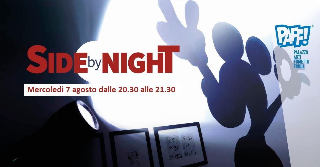 "Notte al museo ""Side by Night"""