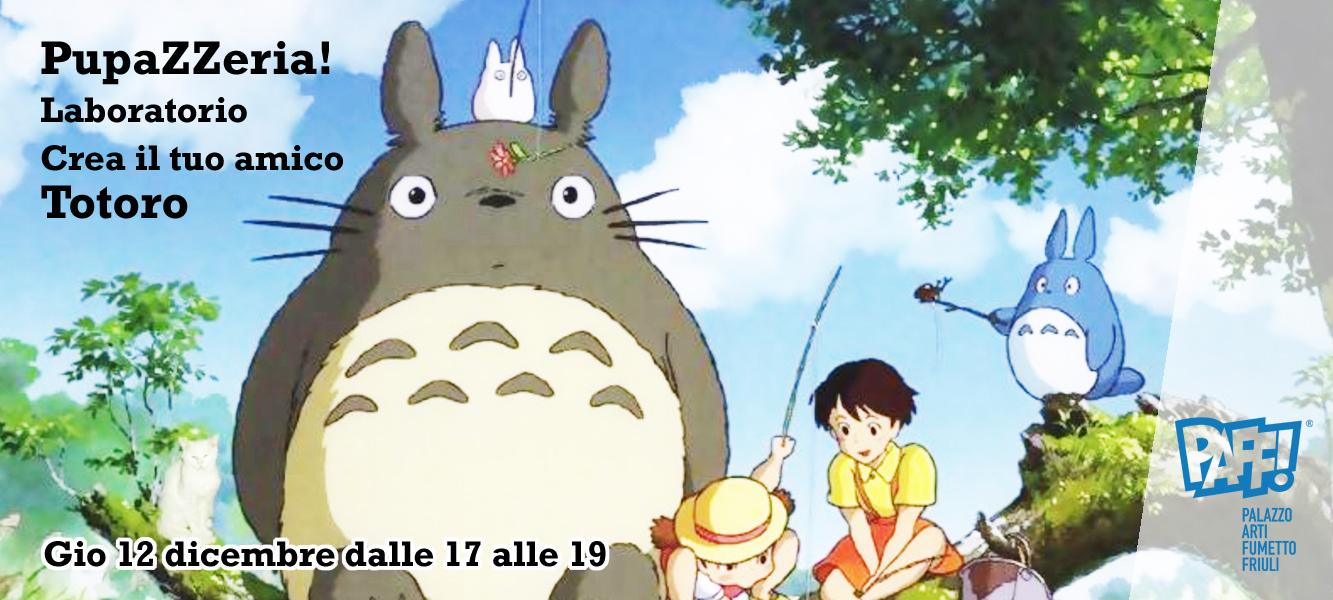 PupaZZeria: Crea il tuo amico Totoro!