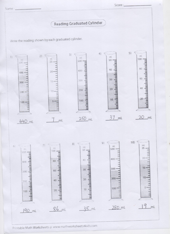 Ans Key Math Blog Worksheet Class 4 Pg 2