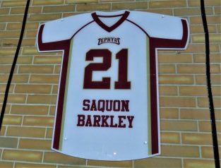 Saquon Barkley Retired Jersey