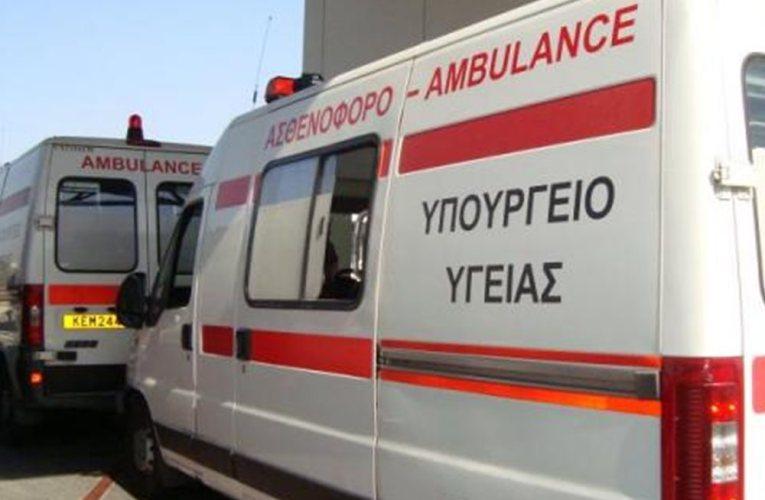 Νέο δυστύχημα στον δρόμο Πάφου-Πόλις με 4 τραυματίες